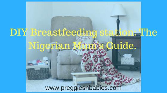 Breastfeeding station